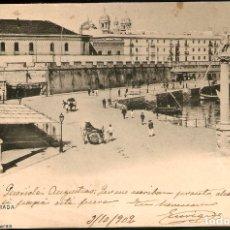 Postales: TARJETA POSTAL CÁDIZ: LA ENTRADA./ HAUSER Y MENET./ ESCRITA EN 1902.. Lote 180156902