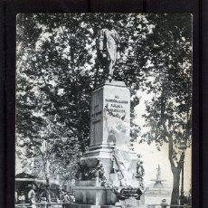 Postales: MALAGA-POSTAL DE HAUSER Y MENET-ESTATUA MARQUÉS DE LARIOS Nº265-VER FOTO ADICIONAL-LEER DESCRIPCIÓN.. Lote 180159076