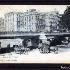 Postales: MALAGA-POSTAL DE HAUSER Y MENET-PUENTE DE TETUAN Nº1443-VER FOTO ADICIONAL REVERSO-LEER DESCRIPCIÓN.. Lote 180163031