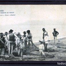 Postales: MALAGA-POSTAL DE HAUSER Y MENET-ESCENA DE PESCA Nº1439-VER FOTO ADICIONAL REVERSO-LEER DESCRIPCIÓ .. Lote 180165245
