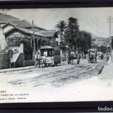 Postales: MALAGA-POSTAL DE HAUSER Y MENET-PASEO LA CALETA Nº1446-VER FOTO ADICIONAL REVERSO-LEER DESCRIPCIÓN .. Lote 180165783