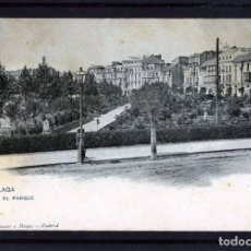 Postales: MALAGA-POSTAL DE HAUSER Y MENET-EL PARQUE Nº1430-VER FOTO ADICIONAL DEL REVERSO-LEER DESCRIPCIÓN .. Lote 180166135
