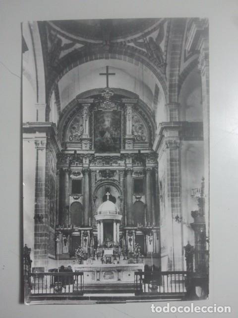 VILLACARRILLO, JAÉN - ALTAR MAYOR DE LA PARROQUIA - S / E., 12 - ANTIGUA POSTAL FOTOGRÁFICA (Postales - España - Andalucia Moderna (desde 1.940))
