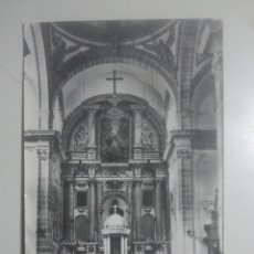 Postales: VILLACARRILLO, JAÉN - ALTAR MAYOR DE LA PARROQUIA - S / E., 12 - ANTIGUA POSTAL FOTOGRÁFICA. Lote 180203388