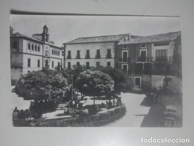 VILLACARRILLO, JAÉN - PLAZA DEL GENERALÍSIMO - FOTO BARAS, 2 - POSTAL FOTOGRÁFICA (Postales - España - Andalucia Moderna (desde 1.940))