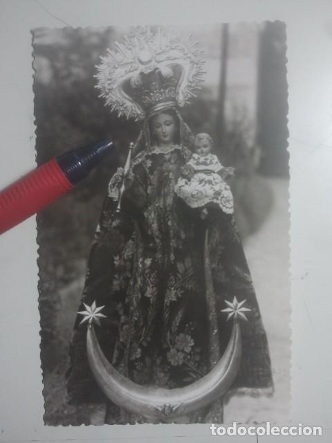 IMAGEN DE LA VIRGEN - PRECIOSA POSTAL FOTOGRÁFICA ANTIGUA - CRISTÓBAL CRUZ, FOTÓGRAFO, BAEZA, JAÉN (Postales - España - Andalucia Moderna (desde 1.940))