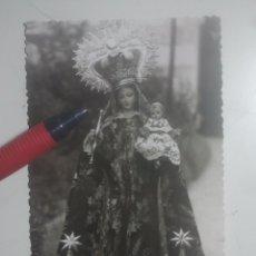Postales: IMAGEN DE LA VIRGEN - PRECIOSA POSTAL FOTOGRÁFICA ANTIGUA - CRISTÓBAL CRUZ, FOTÓGRAFO, BAEZA, JAÉN. Lote 194733177
