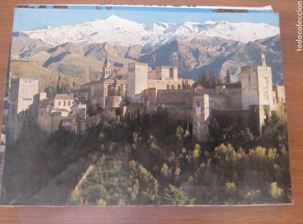 Postales: Granada La Alhambra desplegable acordeón 10 postales color Zerkowitz. 1974. Serie 45. - Foto 2 - 180233496