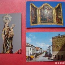 Postales: BAEZA.-POSTALES.-VIRGEN DEL ALCAZAR.-TRIPTICO FLAMENCO.-PLAZA JOSE ANTONIO-.LOTE DE 3 POSTALES.. Lote 180258355