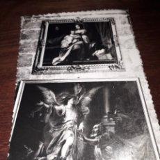 Postales: Nº 11752 POSTAL SEVILLA CATEDRAL SACRISTIA DE LOS CALICES MURILLO SAGRADA FAMILIA. Lote 180288616