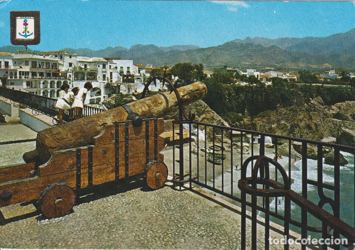 NERJA (MALAGA) VISTA PARCIAL Y CALAHONDA - ESCUDO DE ORO Nº 21 - S/C (Postales - España - Andalucia Moderna (desde 1.940))