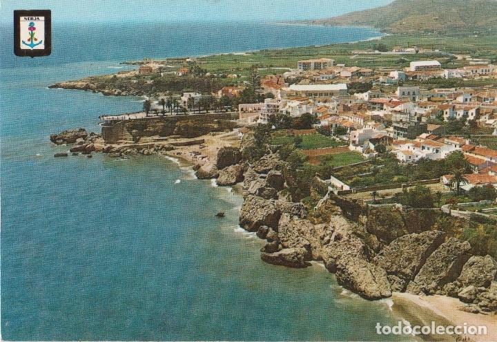 NERJA (MALAGA) VISTA PARCAIL AÉREA - ESCUDO DE ORO Nº 26 - S/C (Postales - España - Andalucia Moderna (desde 1.940))