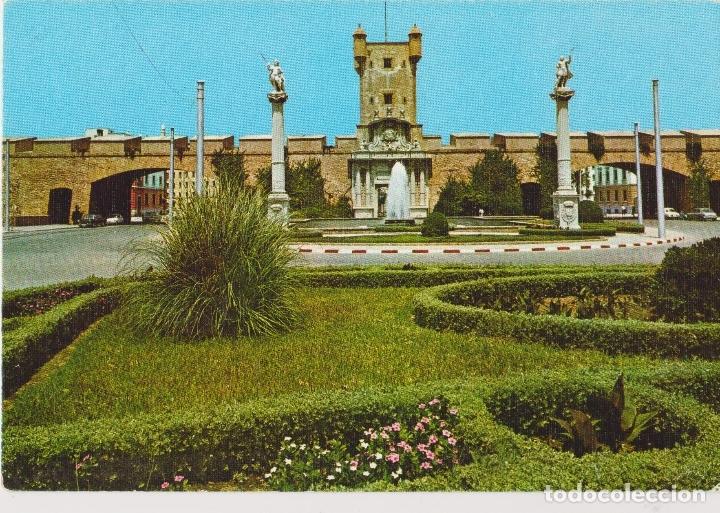 CADIZ, PUERTA DE TIERRA - EDICIONES SICILIA Nº 41 - S/C (Postales - España - Andalucia Moderna (desde 1.940))