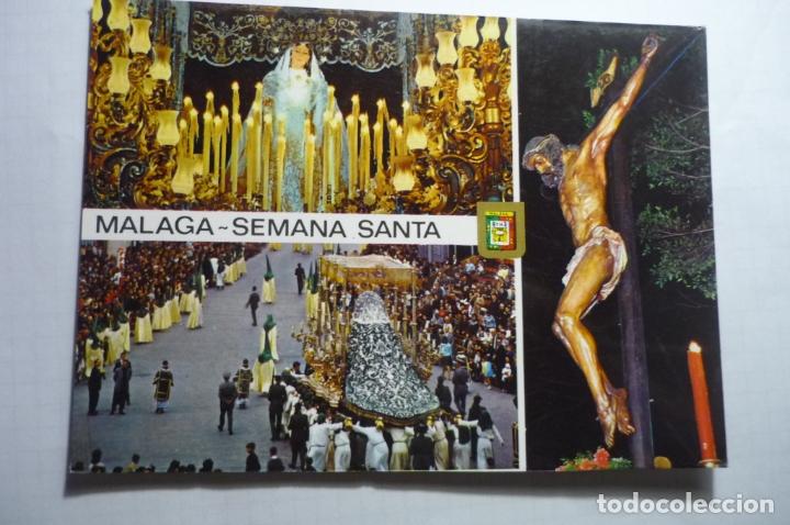 POSTAL MALAGA SEMANA SANTA (Postales - España - Andalucia Moderna (desde 1.940))