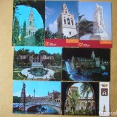 Postales: LOTE 7 POSTALES DE SEVILLA. Lote 180339857