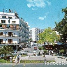 Postales: TORREMOLINOS - 92 PLAZA Y AVENIDA MANANTIALES. Lote 180403598