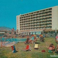 Postales: () TORREMOLINOS. HOTEL PEZ ESPADA ... 1 ESQUINA CON LIGERO DOBLEZ. Lote 180405978