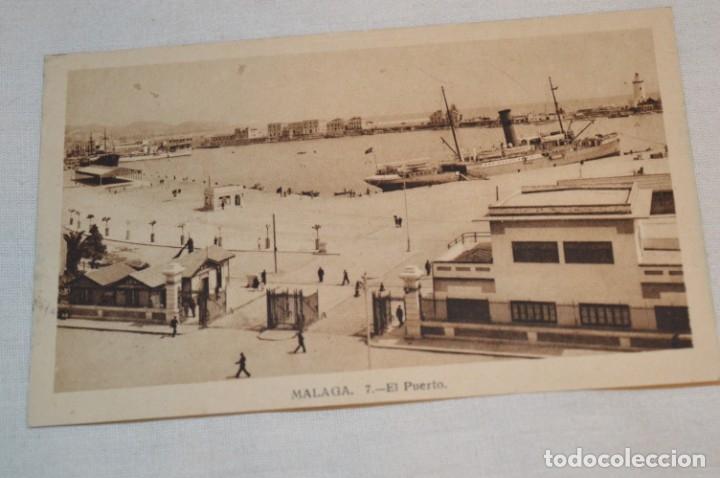 VINTAGE - ANTIGUA Y RARÍSIMA POSTAL SIN CIRCULAR - EL PUERTO / MÁLAGA - ¡MIRA FOTOS Y DETALLES! (Postales - España - Andalucía Antigua (hasta 1939))