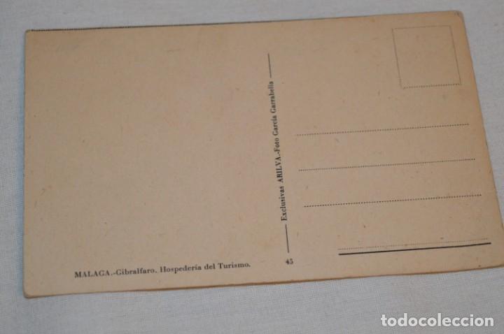 Postales: VINTAGE - ANTIGUA Y RARA POSTAL - SIN CIRCULAR - GIBRALFARO / MÁLAGA - ¡Mira fotos y detalles! - Foto 2 - 180411598