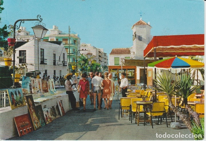 (1327) TORREMOLINOS. CALLE DE LA NOGALERA (Postales - España - Andalucia Moderna (desde 1.940))