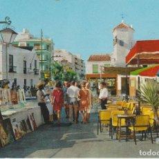 Postales: (1327) TORREMOLINOS. CALLE DE LA NOGALERA. Lote 180411668