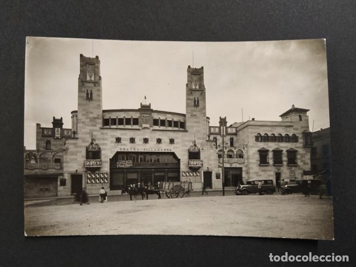 JEREZ-TEATRO VILLAMARTA-POSTAL FOTOGRAFICA-VER FOTOS-(63.296) (Postales - España - Andalucía Antigua (hasta 1939))