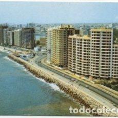 Postales: POSTAL DE MALAGA. VISTA AEREA DEL PASEO MARITIMO Nº 84 P-ANMA-1027. Lote 180447915