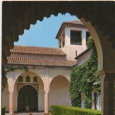 Postales: POSTAL DE MALAGA. ALCAZABA. ESTANQUE DEL PALACIO MORO Nº 37 P-ANMA-1038. Lote 180448741