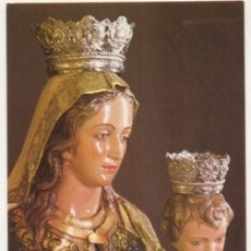 Postales: POSTAL DE MALAGA. NTRA. SRA. DEL SOCORRO. PATRONA DE CASABERMEJA P-ANMA-1039. Lote 180448820