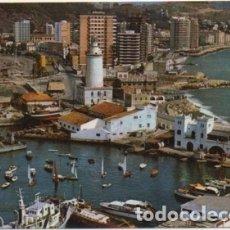 Postales: POSTAL DE MALAGA. LA FAROLA. PASEO MARITIMO Nº 3 P-ANMA-1041. Lote 180454632