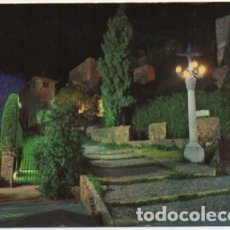 Postales: POSTAL DE MALAGA. LA ALCAZABA. VISTA PARCIAL NOCTURNA Nº 5 P-ANMA-1043. Lote 180454853