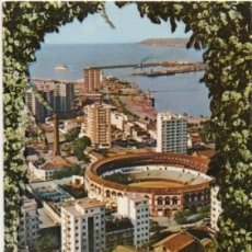 Postales: POSTAL DE MALAGA. PLAZA DE TOROS. VISTA PARCIAL P-ANMA-1044. Lote 180454918