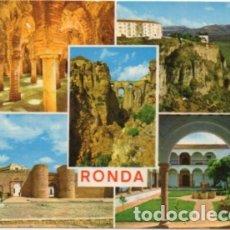 Postales: POSTAL DE MALAGA. RONDA. VARIAS VISTAS Nº 52 P-ANMA-1045. Lote 180455017