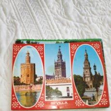 Postales: LIBRITO POSTALES RECUERDOS DE SEVILLA. Lote 180455032