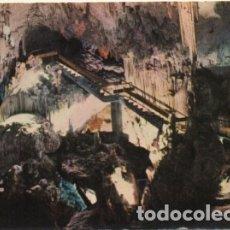 Postales: POSTAL DE MALAGA. GRAN BAJADA A LA SALA DE LA CASCADA Nº 9 P-ANMA-1049. Lote 180455311