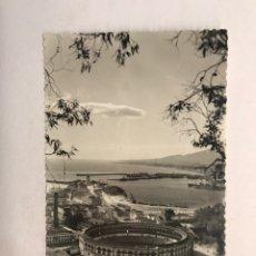 Postales: MALAGA. POSTAL NO. 261, VISTA DEL PUERTO DESDE GIBRALFARO. EDITA: FOTO CORTES (H.1950?). Lote 180485555