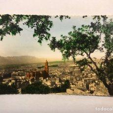 Postales: MALAGA. POSTAL COLOREADA NO.173, VISTA GENERAL. EDITA: FOTO D. CORTES. CASA LIS (H.1950?). Lote 180487795