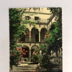 Postales: MALAGA. POSTAL COLOREADA NO.284, JARDINES DEL PALACIO EPISCOPAL. EDITA: FOTO D. CORTES.. Lote 180488340