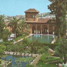 Postales: [POSTAL] ALHAMBRA. EL PARTAL. TORRE DE LAS DAMAS. GRANADA (SIN CIRCULAR). Lote 180488470