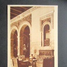 Postales: POSTAL SEVILLA. HOTEL ALFONSO XIII. DETALLE DE GALERÍA. . Lote 180491138