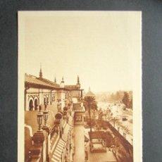 Postales: POSTAL SEVILLA. HOTEL ALFONSO XIII. TERRAZAS FACHADAS A CRISTINA. . Lote 180491160