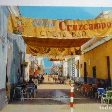 Postales: POSTAL CHIPIONA -CALLE ISAAC PERAL.-CINE BAR .CIRCULADA. Lote 180492520
