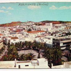 Postales: POSTAL AYAMONTE HUELVA ESCRITA 1965. Lote 180857761