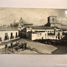 Postales: UTRERA (SEVILLA) POSTAL NO.19, PLAZA DE SANTA ANA Y VISTA PARCIAL. EDITA: ED. ARRIBAS (A.1964). Lote 180979648