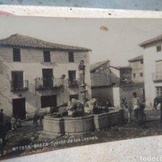 Postales: ANTIGUA POSTAL BAEZA ( JAÉN ) - FUENTE DE LOS LEONES - N°7559. Lote 181028442