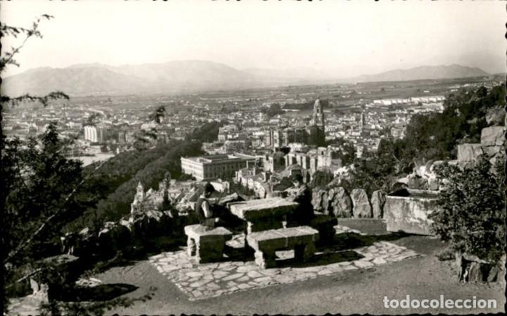 MALAGA. VISTA GENERAL – FOTO CORTES (Postales - España - Andalucía Antigua (hasta 1939))