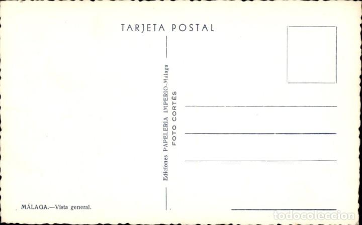 Postales: Malaga. Vista General – Foto Cortes - Foto 2 - 181394922