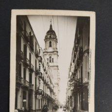 Postales: MALAGA-CALLE DE MOLINA-POSTAL PROTOTIPO ARCHIVO FOTOGRAFICO ROISIN-FOTO PEGADA-VER REVERSO-(63.497). Lote 181509617