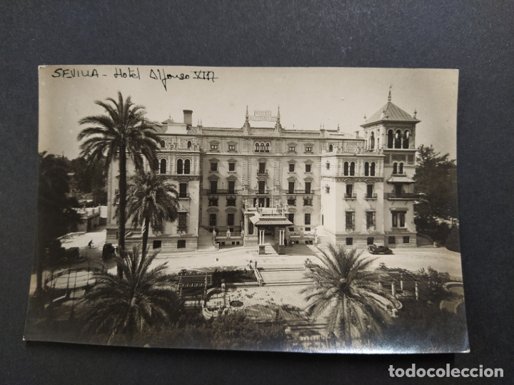 SEVILLA-HOTEL ALFONSO XIII-FOTOGRAFICA-ARCHIVO ROISIN-VER FOTOS-(63.504) (Postales - España - Andalucía Antigua (hasta 1939))