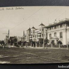 Postales: SEVILLA-AVENIDA BORBOLLA-FOTOGRAFICA-ARCHIVO ROISIN-VER FOTOS-(63.506). Lote 181510785